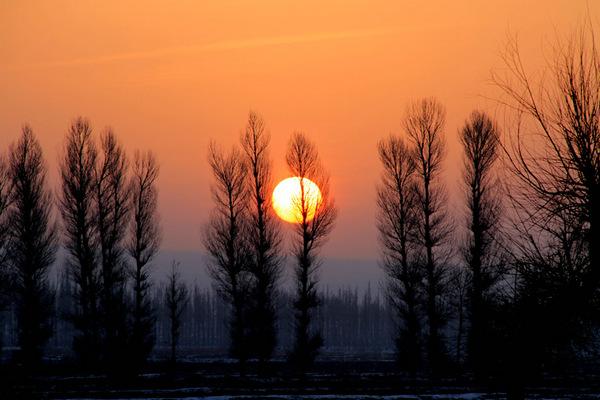 描写冬天的太阳句子